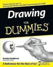 Drawing for Dummies by Brenda Hoddinott (2003, Paperback)