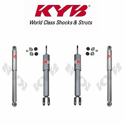 Rancho RS5000X Gas Shocks Set compatible with 2000-2006 Chevrolet Suburban 1500 2WD 4WD