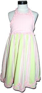 Delicious-TRISH-SCULLY-Size-6X-6-7-PARFAIT-Halterneck-Dress