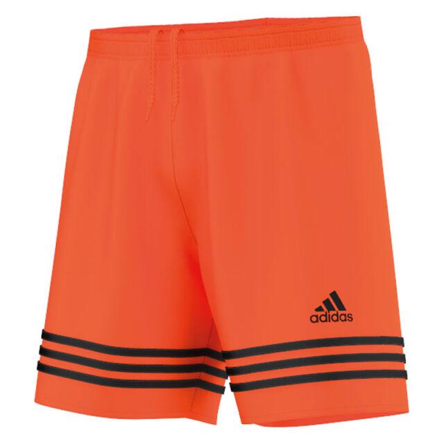 e5920933fca42a adidas Entrada 14 Shorts Orange Black XL for sale online | eBay