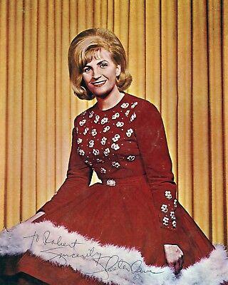 SKEETER DAVIS 8x10 Signed Reprint Photo Country Music Memorabilia Photograph