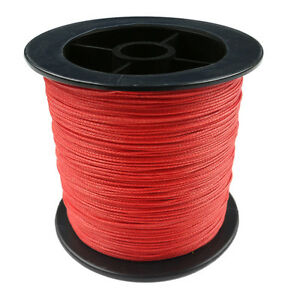 Red-8-Strand-Braid-100-1000M-6-300LB-100-PE-Power-Super-Strong-Fishing-Line