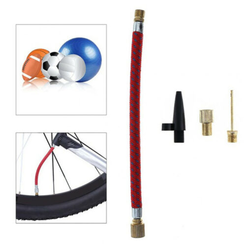 1Set Inflating Needle Kits Needle Hose Sports Ball Bike Tire Tube Air Pump Tool.