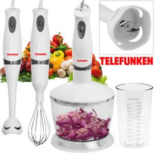 Stabmixer-TELEFUNKEN-Mixer-Mixstab-Standmixer-Puerierstab-Zerkleinerer-9-teilig