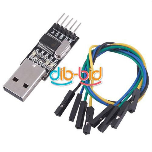New USB To RS232 TTL PL2303HX Converter Module Converter Adapter 5V 3.3V Output
