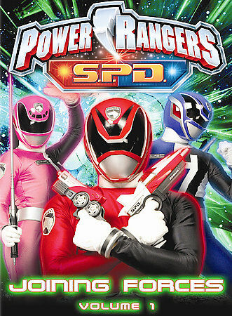 Power Rangers S P D Vol 1 Joining Forces Dvd 2005 For Sale Online Ebay