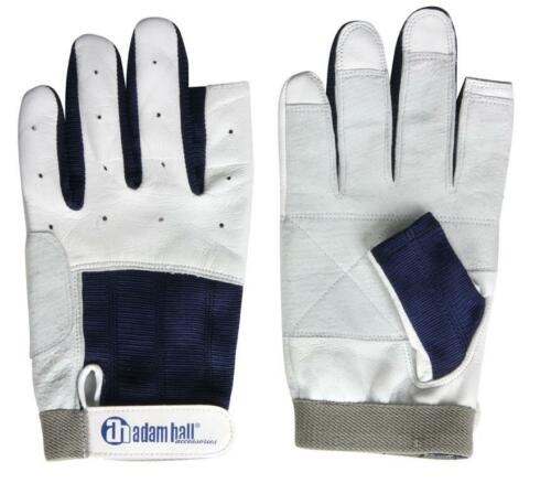 Adam Hall Segelhandschuhe Kalbsleder Gr. M / 8 Rigger Gloves Roadie Handschuhe