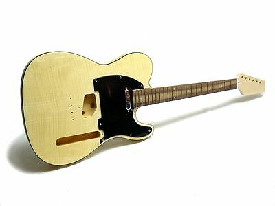 "E-Gitarren-Bausatz/Guitar DIY Kit ""ML-Factory"" Style II Flamed Maple Top"