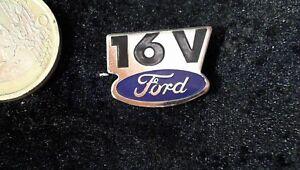 Pins, Moderne Logisch Ford Pin Badge Logo Emblem 16v Letzter Stil Auto & Motorrad: Teile