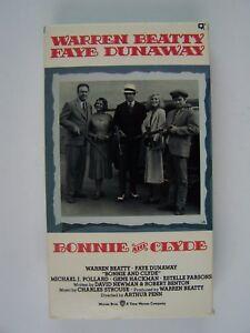 Bonnie & Clyde VHS Warren Beatty Faye Dunaway 125691026