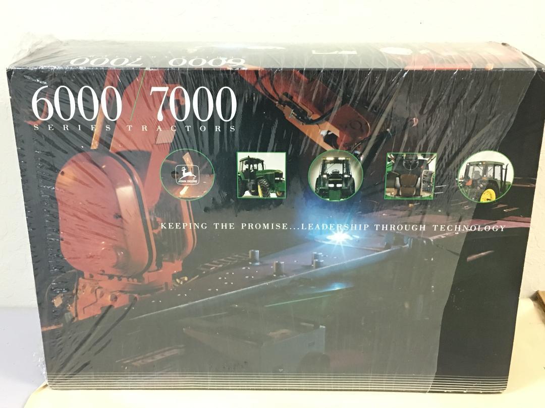 ERTL Kit Série 6000-7000 John Deere Tracteur échelle 1 16 Comme neuf IN BOX 1992 Free Sh