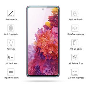 Protective Glass For Samsung Galaxy A42 A52 A51 A71 A72 A12 A02 Screen Protector
