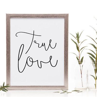 NEW True love print Women's by Hark Home