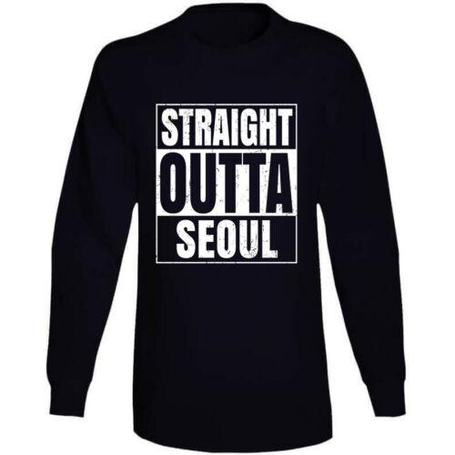 Straight Outta Seoul South Korea Compton Parody Grunge City T Shirt