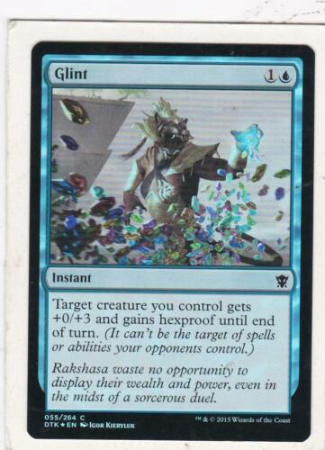 Magic Foil Dragons of Tarkir Glint MTG