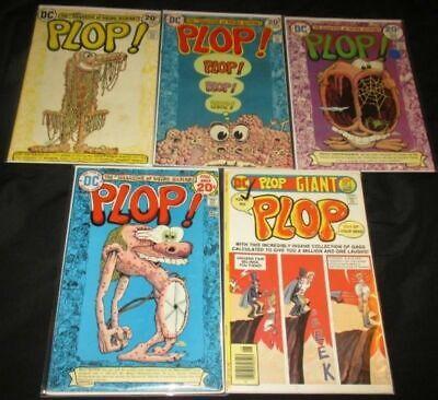 1973-76 Priced Per Comic Plop U-pick One #2,3,4,8 Or 21 Dc