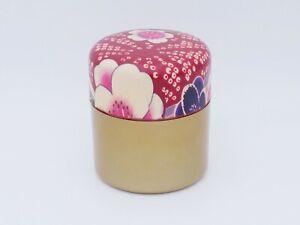 Pro Japanese Tea holder TOMITALIA  VENIE series Sakura pattern Case Japan made