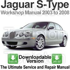 Item 1 Jaguar S Type 2003 To 2008 Workshop, Service And Repair Manual  DOWNLOAD  Jaguar S Type 2003 To 2008 Workshop, Service And Repair Manual  DOWNLOAD