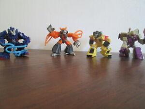 2006-2008 Transformers Robot Heroes  Figure Lot of 4