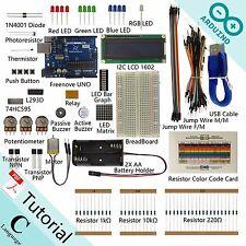 Super Starter Kit for Arduino Uno R3 Beginner Learning Detailed Tutorial PDF LED