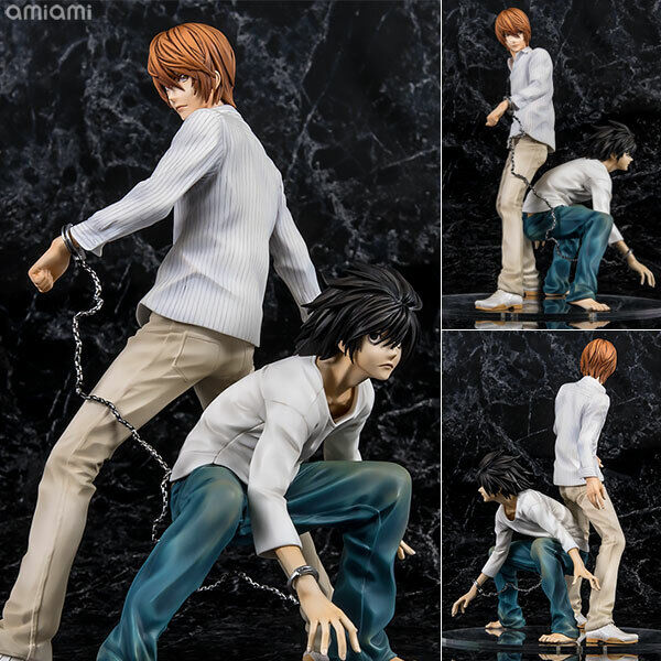 Venta exclusiva de [] G.E.M. serie Death Note Light Yagami & L Figura Completa