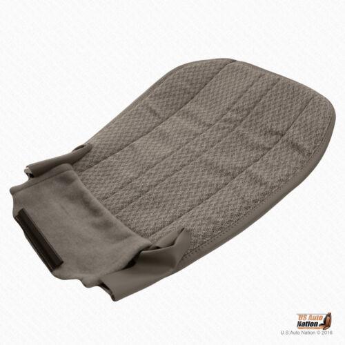 2003-2014 Chevy Express 1500 2500 3500 Van Driver Bottom Cloth Seat Cover Tan