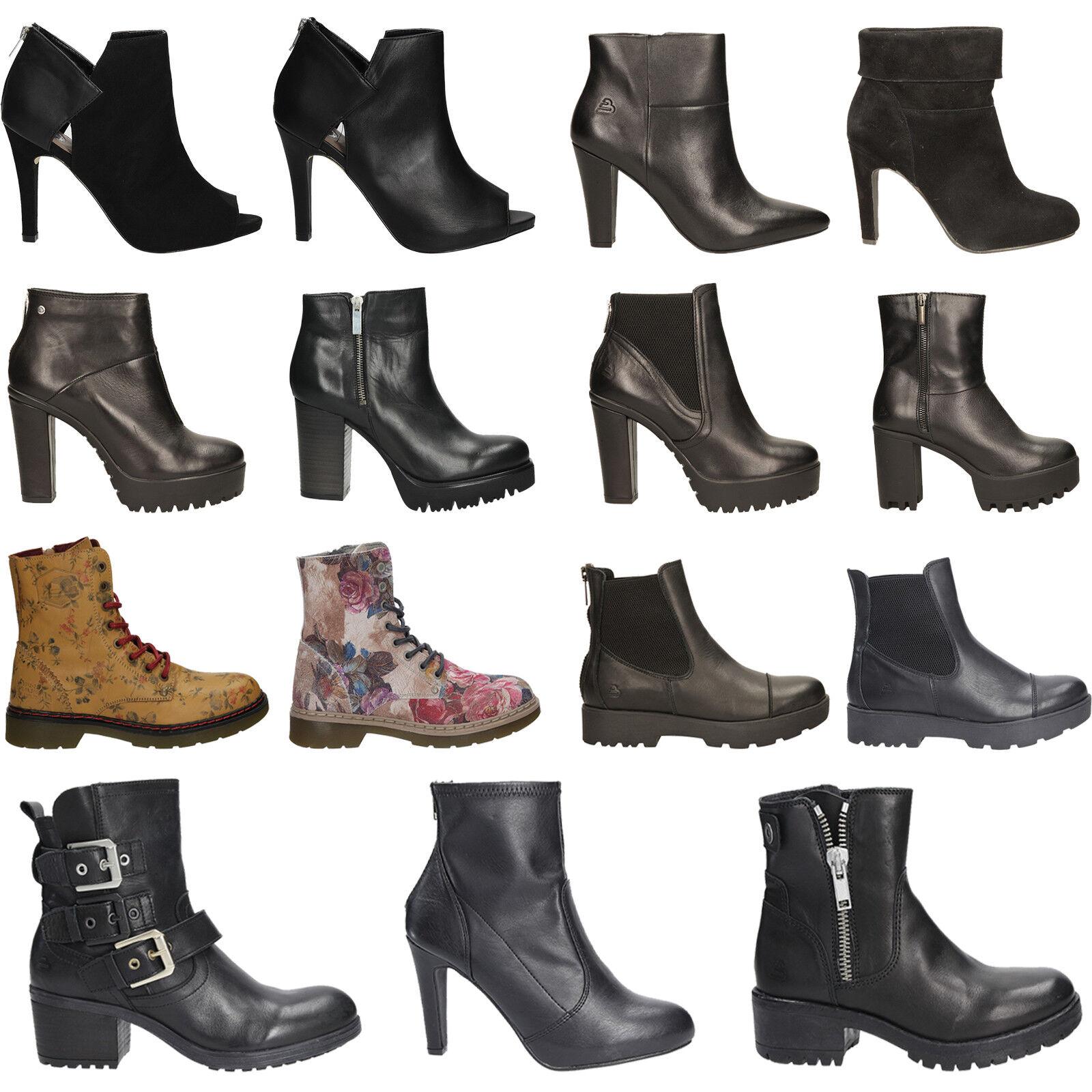 Bullboxer zapatos señora botines de invierno y el otoño cremallera cómomujerte talla 36-40