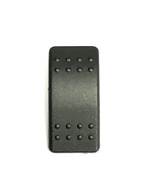 Fits Carling Technologie... 5 Pack Euro Rocker Black Switch Cover with no Lens