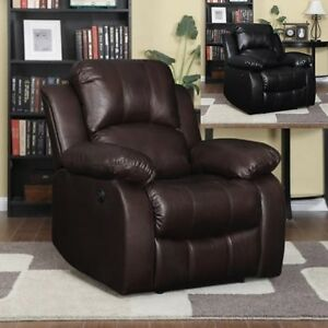 Large Leather Electric Power Recliner Arm Chairs Recliners