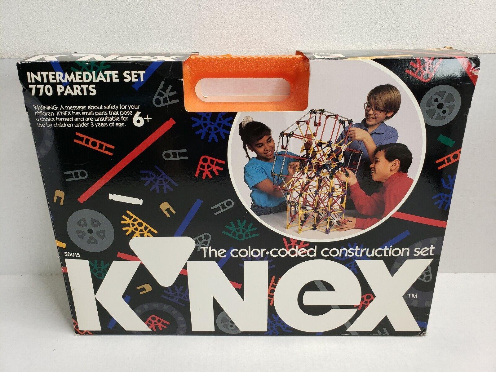 K 'nex intermedio construcción codificadas por Color set 50015 1992