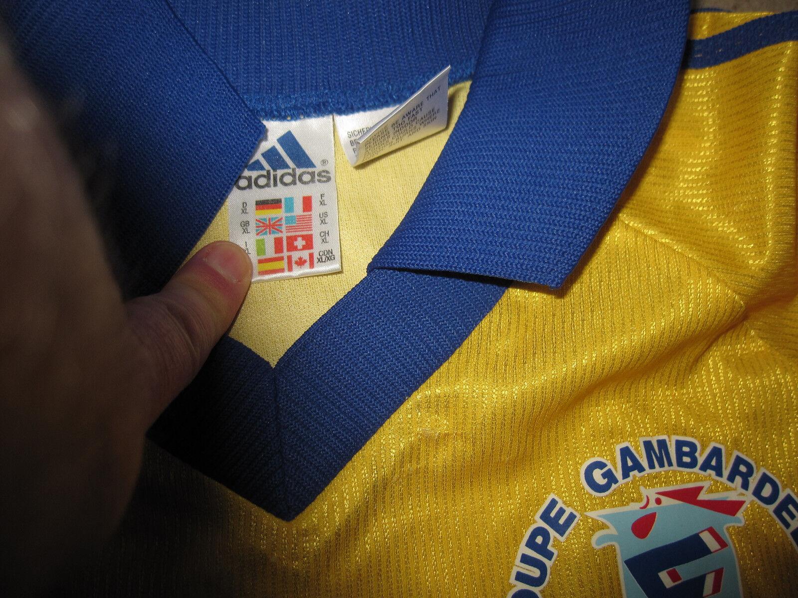Maillot Adidas Coupe Gambardella Sochaux Montbéliard Porté vintage Jersey - - - XL | Good Design  | Acquisti online  | prendere in considerazione  efb9de