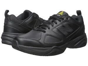 New Balance 626v2 Black Leather Safety