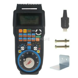 Details about Wireless CNC 6 Axis Mach3 MPG Pendant Controller with 100PPR  Handwheel for DIY