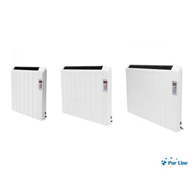 Emisor digital bajo consumo sin fluido programable termostato Serie DIS Purline