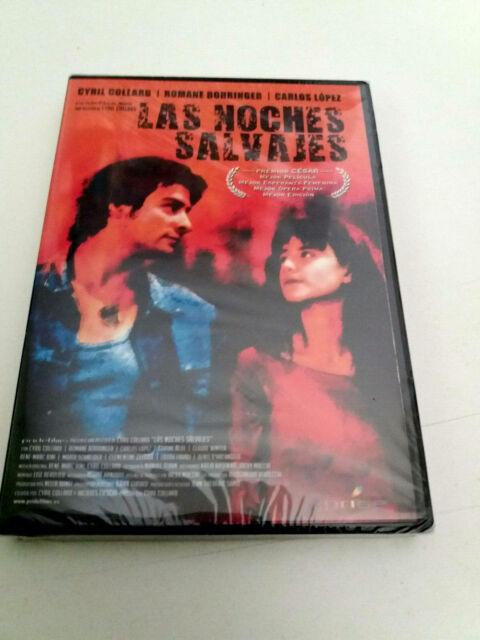 """DVD """"LAS NOCHES SALVAJES"""" PRECINTADA CYRIL COLLARD ROMANE BOHRINGER CARLOS LOPEZ"""