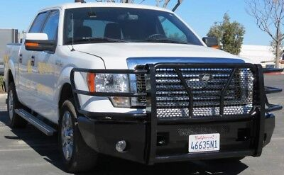 New Ranch Style Smooth Front Bumper 2009 2010 2011 2012 2013 2014 Ford F150 Ebay