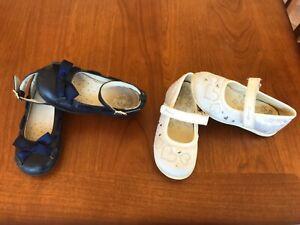 qualità superiore Guantity limitata abbigliamento sportivo ad alte prestazioni Dettagli su Lotto scarpe ballerine bimba Primigi blu bianche n 24 25