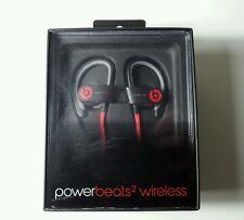 Beats by Dr. Dre-Powerbeats 2 Wireless Bluetooth Earbud Headphones-Black & Red