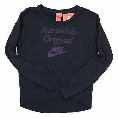 Nike Sportswear Women's - RUNNING VINTAGE ORIGINAL SWEATSHIRT - S M 575164 010