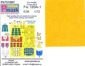 Model Maker 1//72 FOCKE WULF Fw-190A//F Kabuki Tape Paint Mask Set for Airfix Kit