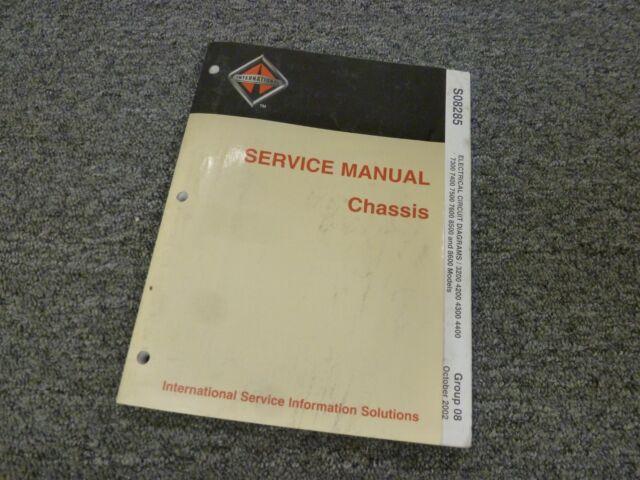 2006 International 8600 Wiring Diagram Manual Guide