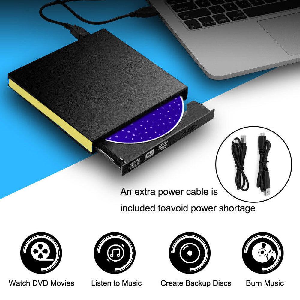 externe usb 3 0 slim dvd cd rom graveur lecteur de bo te disque drive portable ebay. Black Bedroom Furniture Sets. Home Design Ideas