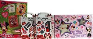 Minnie-Mouse-3-piezas-Encanto-Joyas-Arte-en-Unas-Belleza-Aqua-Art-Tatuajes-Regalo-se