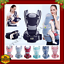 0-48M-Ergonomic-Baby-Carrier-Infant-Bag-Hipseat-Carrier-Front-Facing-Kangaroo thumbnail 1