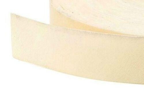 X 10 Stück Meter 40mm Baumwolle Flach Ungefaltet Schrägbandeinfassung Band
