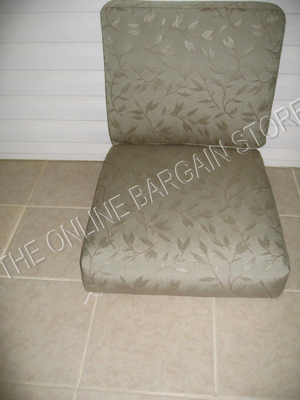 Frontgate sillón reemplazo Sunbrella Cojines Glen Isle rama rama 22x24