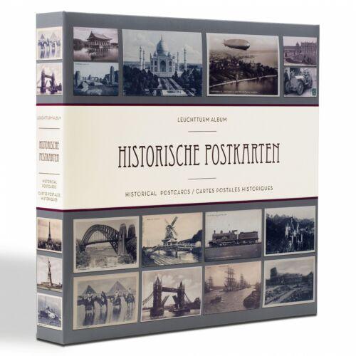 Postkartenalbum für bis zu 600 Postkarten Motiv historische Karten     348003