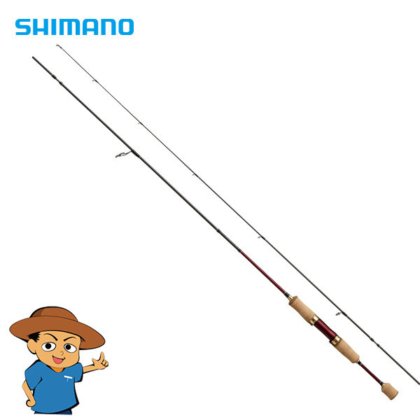 Shimano  CARDIFF AX S60XUL-F Extra Ultra Light trout fishing spinning rod pole  just buy it
