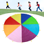 Outdoor-Children-Group-Game-Team-Building-Parachute-Rainbow-Game-Toys-Kids-Adult thumbnail 2