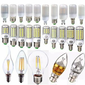 E27-E14-G9-2-4-6-8-12-16-18W-LED-Edison-Filament-Globe-Light-Corn-Bulb-Xmas-Lamp